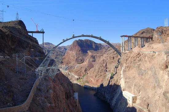 Hoover Dam Lake Mead bypass Nevada Arizona mjghajar