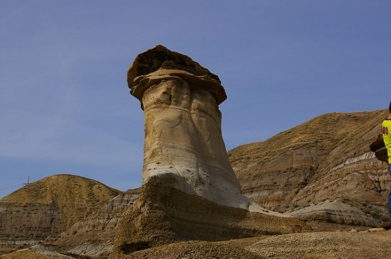 Another pic of a hoodoo.  They are quite huge to stand beside.
