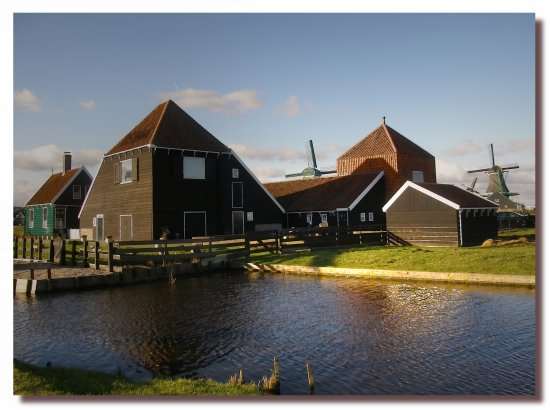 netherlands zaanseschans landscape view farm nethx zaanx landn farmx viewn