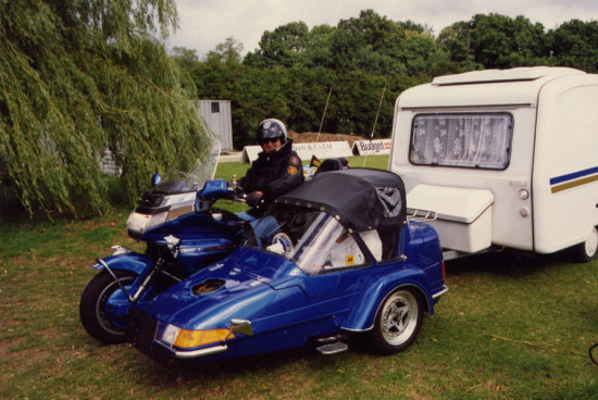 Motorbike Bike Goldwing Caravan Sidecar