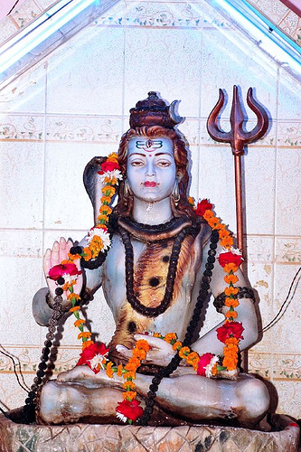 Lord Shiva at Raj Thandai Chowk