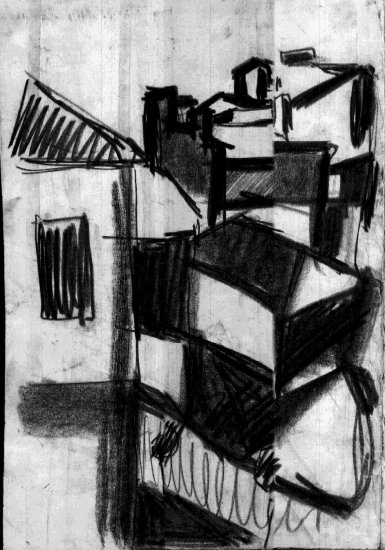 midnight city charcoal sketch avramovhemy