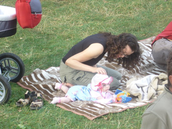 one of the youngest blues enthusiast taking part in Festival