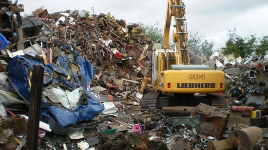 SCRAP YARD IN SHROPSHIRE!