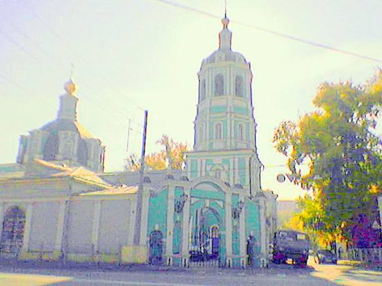 moscow russia church orthodox christian temple old belltower steeple churchtower
