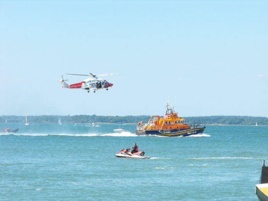 Yarmouth IOW Helicopter