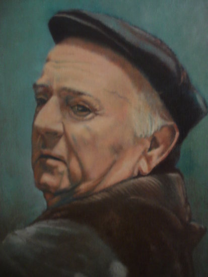 MY FATHER (OIL PAINTING BY RIOS)
