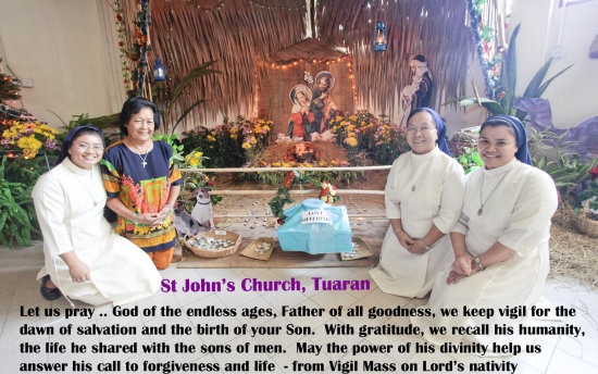 church christmas holy one apostolic universal people religion tuaran st john