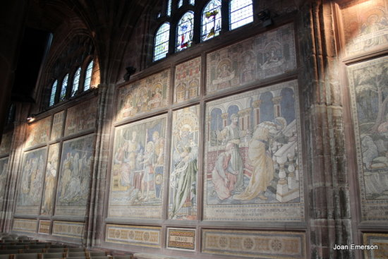Frescoe Chester Cathedral