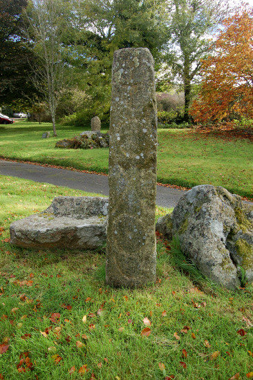 standing stone christian archaeology sourton