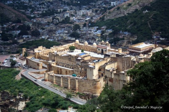 amer fort jaigarh rajasthan india