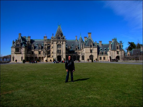 biltmore house estate castle me sky could