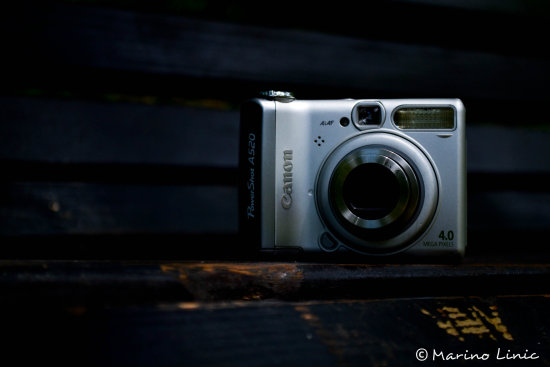 Canon Powershot A520 My Old Camera
