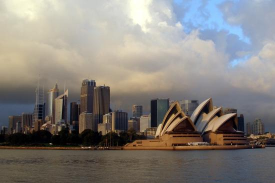 city harbour architecture opera Sydney australia