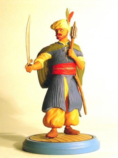 90mm Figure * Khair-ed-din-Barbarossa - 16th Century Turkish Pirate