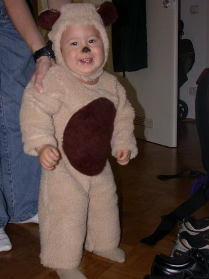 this halloween i was a honey bear.  there were a lot of us around town.