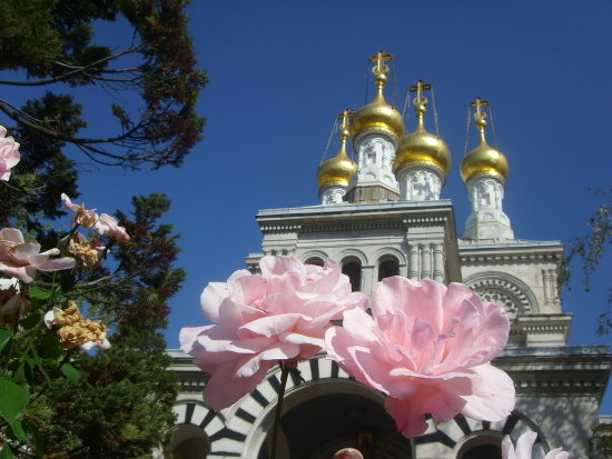 roses russian orthodox church Geneva