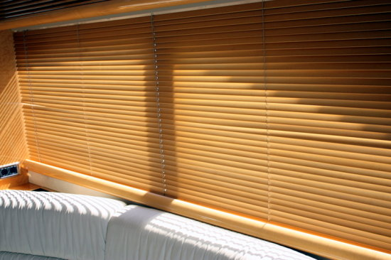 Window Shades Brown