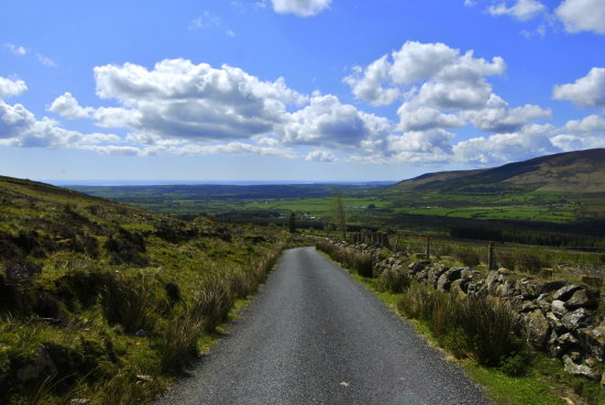 landscape mountain comeraghs mahon falls waterford