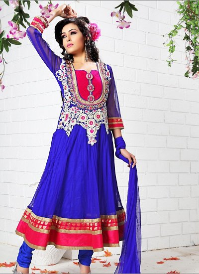 Designer long anarkali suits. For more collections: http://www ...