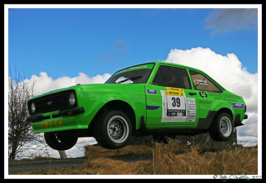 Escort Mk2 Ford Rally Mayo Ireland Peter OSullivan