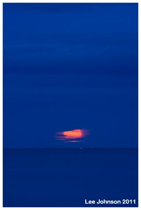 Landscape Seascape Abstract Twilight Moon Lights Spideyj
