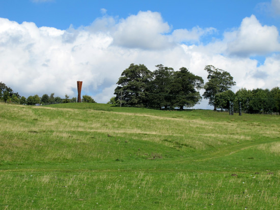 15. Not sure whether I like Henry Moore's work but it's in a glorious setting!  ...and looking u...