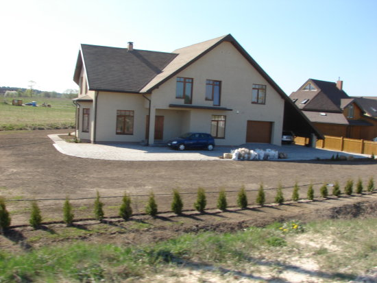 real estate private property cottage house home architecture ramava latvia view
