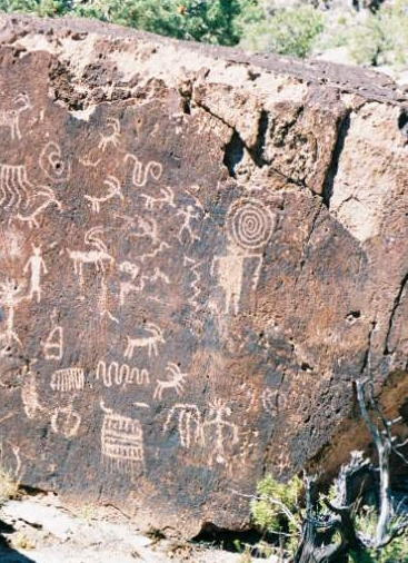 Arizona rock drawings