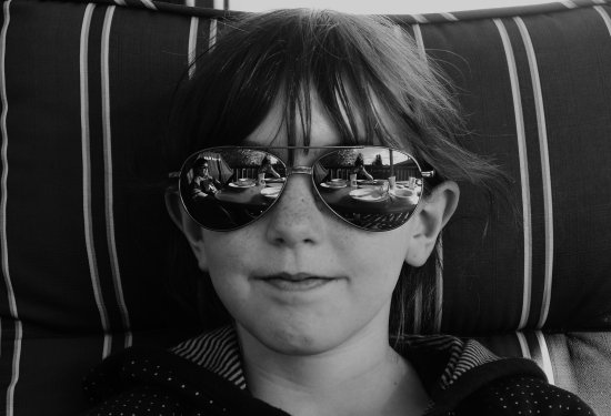sister kid child sunglasses portrait