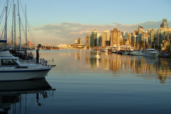 reflectionthursday coal harbour sunset vancouver bc canada