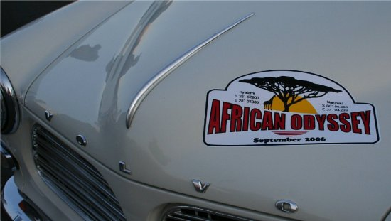 African Odyssey classic rally September 2006