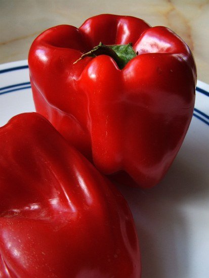 Red Peppers (from the Watervliet Farmer's Market)