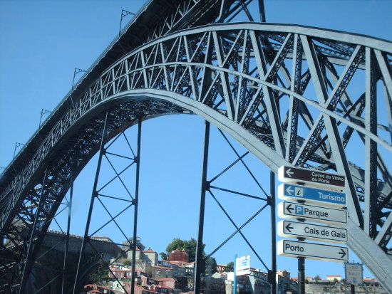 Oporto bridge Douro