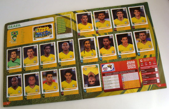 goal worldcup brazil card album
