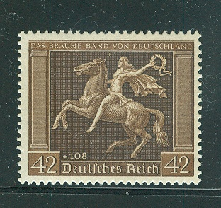 stamps Germany Horses