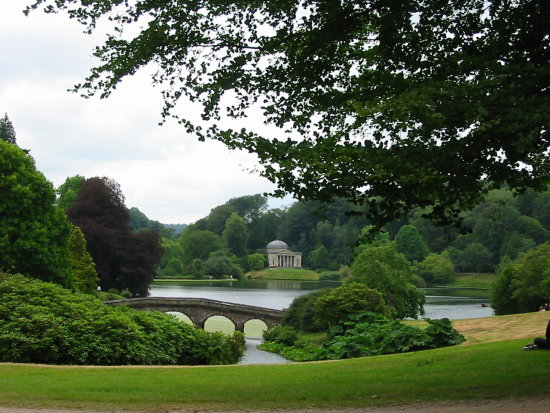 bridge water stourhead
