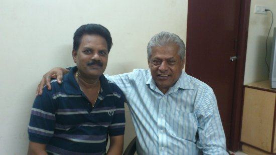 chandrasekaran with Delhi Ganesh