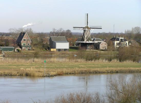 Series Windmills Scenery Walk Dutch Water