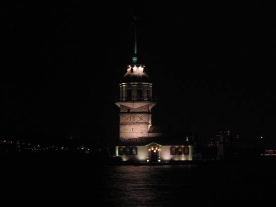 Kiz Kulesi (also known as Maiden's Tower) is a tower sitting on a small islet located in the Bosp...