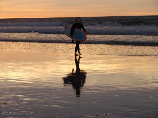 reflectionthursday early morning surf st clair beach dunedin 2009 littleollie