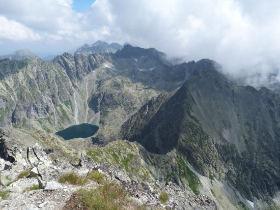 Mountains Tatra Slovakia Europe Lake