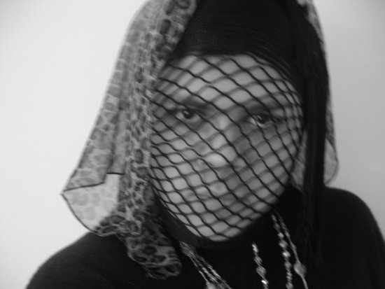 Me in a face net one of my other fav inspirations by lady gaga!