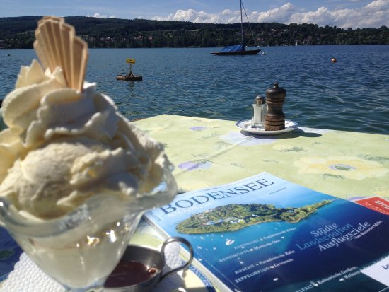 Bodensee Switzerland ice cream