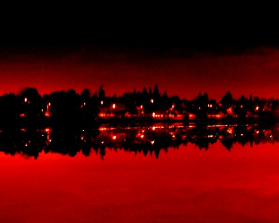 in red nothing seems real...
