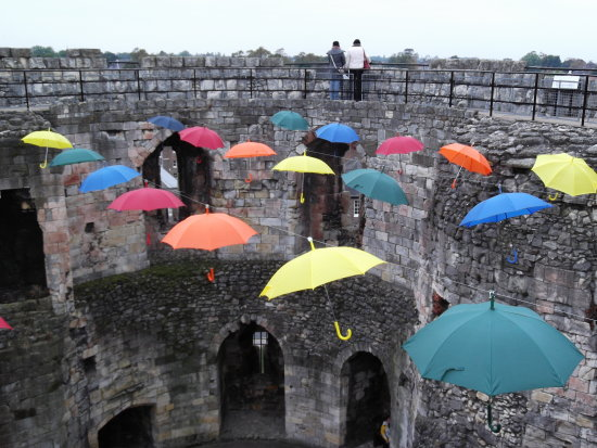 York castle umbrellas umbrellafriday