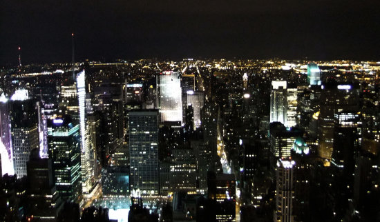 View from the empire state :)