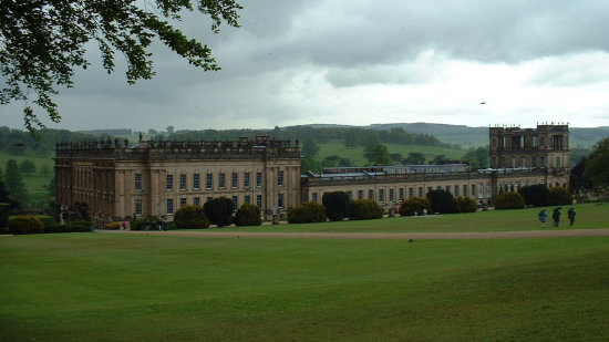 Chatsworth mannor house Peak District England architecture heritage