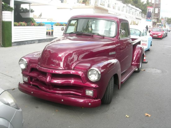 chevy pickup 1950 istanbul