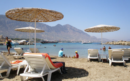 Beautiful Cyprus beaches comfy hotels or restaurants